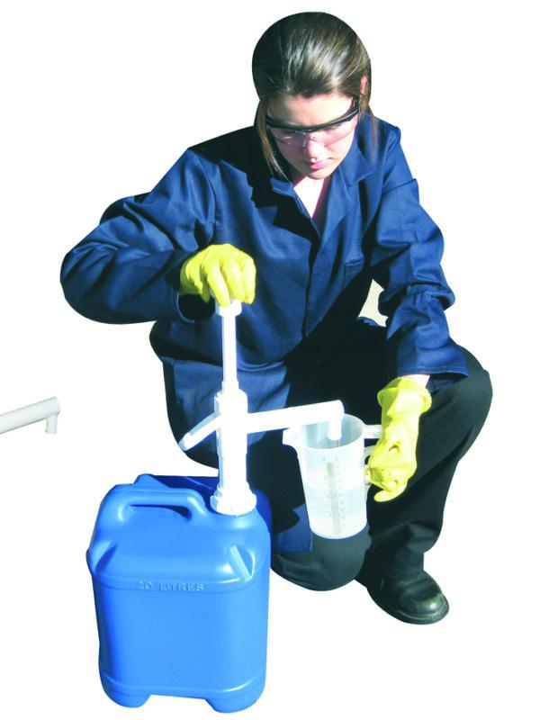 Pompe à piston pour bidon de 20 à 30 litres