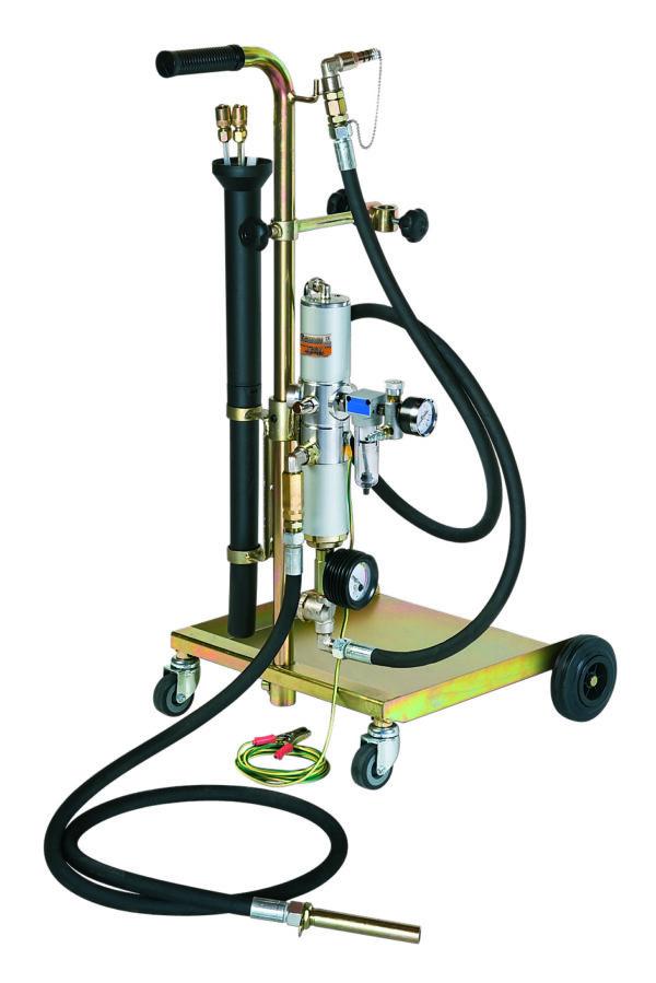 Unité mobile de vidange pneumatique ATEX