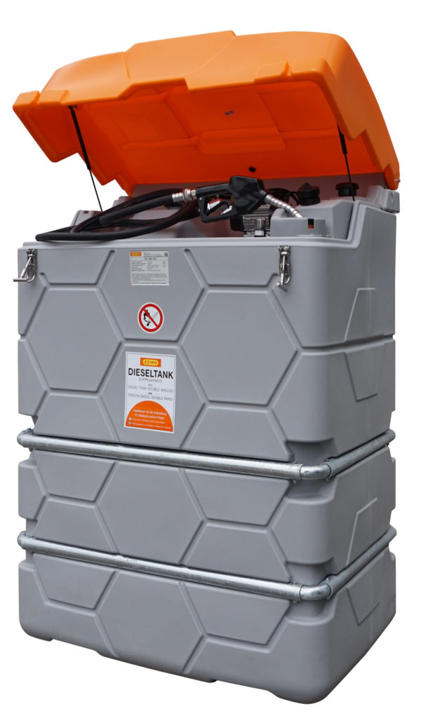 Station GO CUBE Outdoor STANDARD  1 000 litres