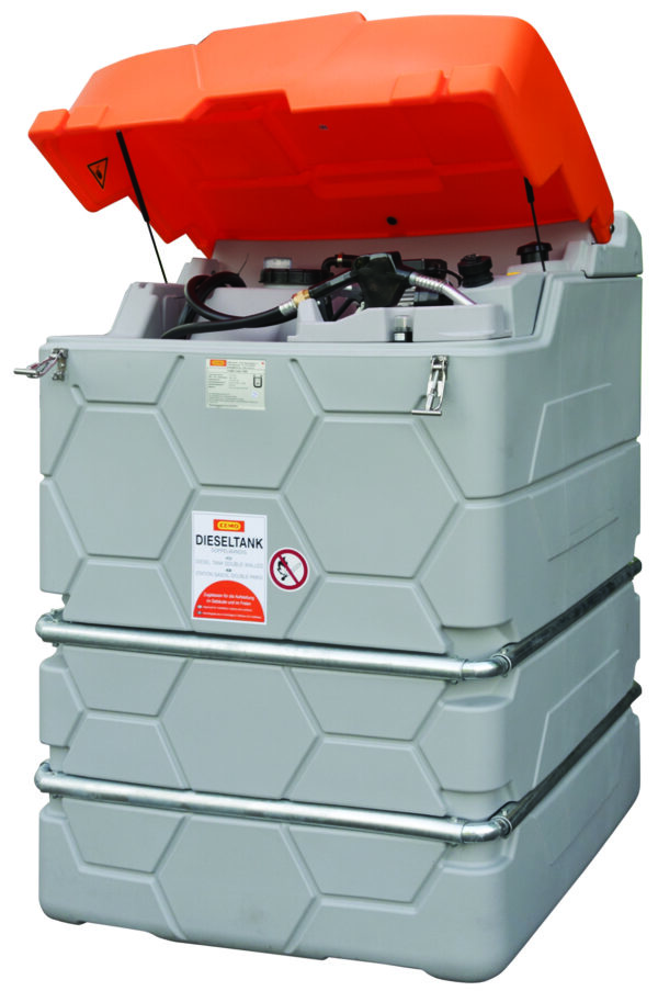 Station GO CUBE Outdoor STANDARD  1 500 litres