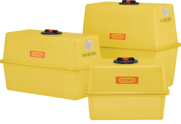 Cuve PFV rectangulaire 600 litres