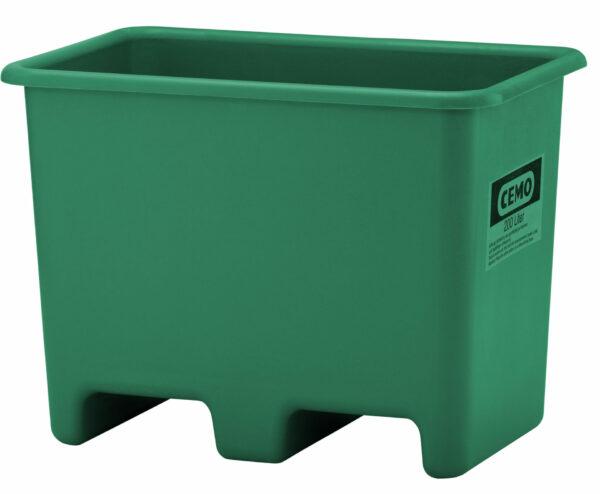 Bac PFV avec passage de fourches 200 litres