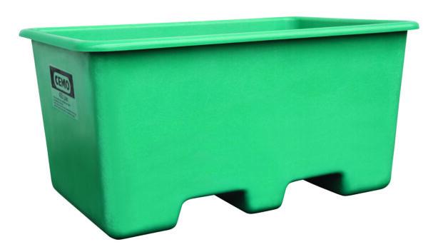 Bac PFV avec passage de fourches 400 litres