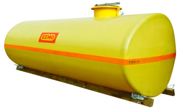 Cuve PFV ovale 5 000 litres