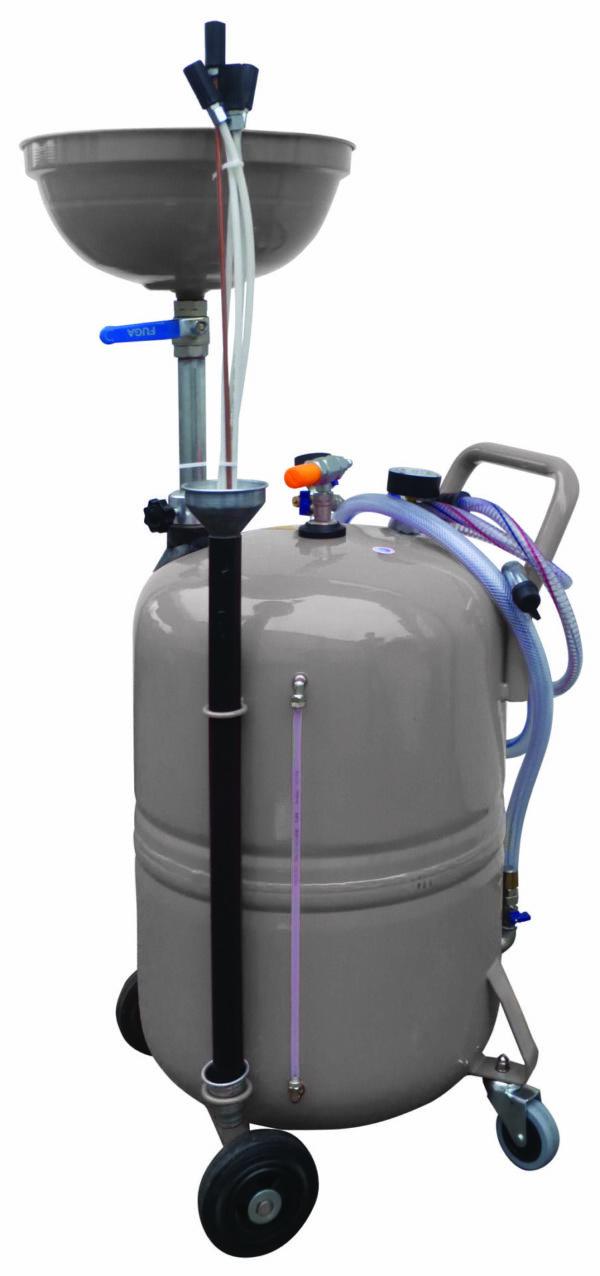Aspirateur/Récupérateur huile de vidange 80 litres