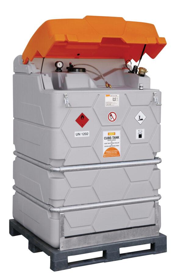 Cuve FIOUL CUBE MOBIL 1 500 litres
