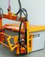 Palonnier hydraulique basculable pour bac à sel 400 litres