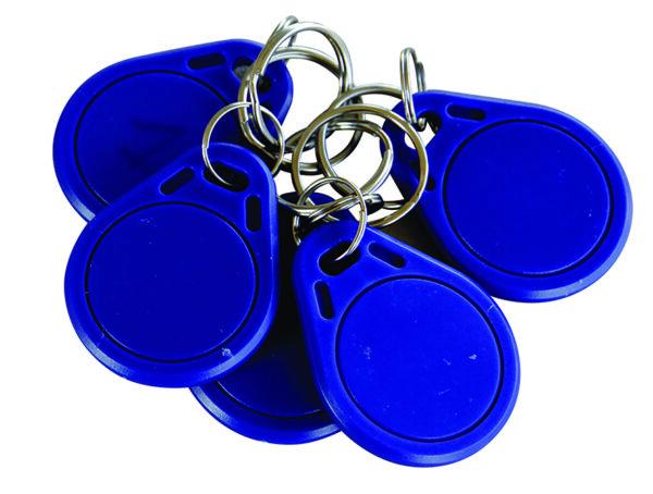 Lot de 5 badges utilisateurs pour compteur digital avec contrôle d'accès CMT 10