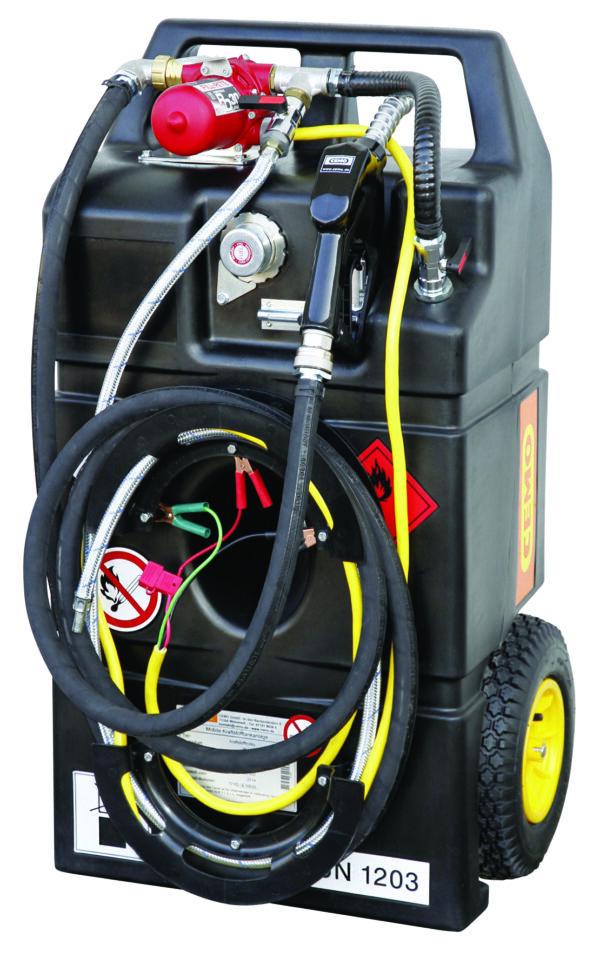 Caddy de vidange électrique ATEX 95 litres