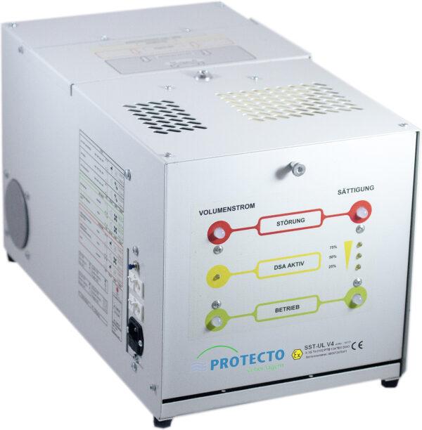 Ventilation avec filtre charbon actif pour armoire anti-feu Protecto-Line F90 (voir page 173)