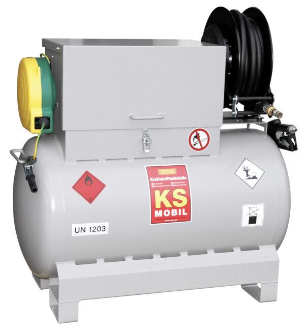 Station KS-Mobil de vidange électrique ATEX 300 litres