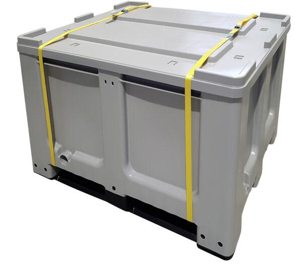 BOX BATTERIES ADR 610 litres avec couvercle