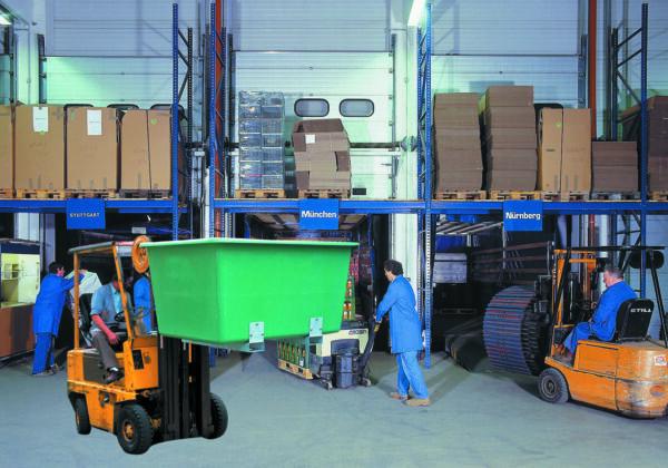Bac PFV avec fourreaux 2 200 litres