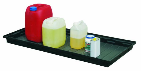 Bac PLAT 30 en polyéthylène à poser sur étagère