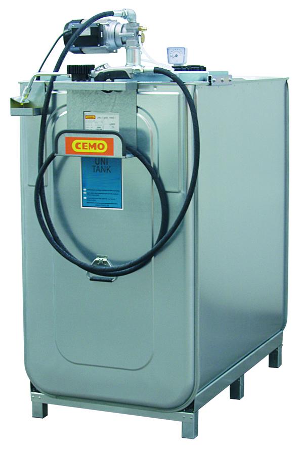 Station LUB ECO électrique 750 litres