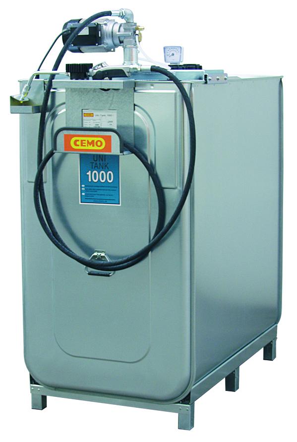 Station LUB ECO électrique 1 000 litres
