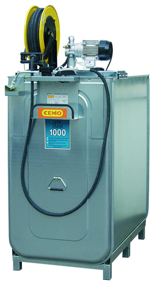 Station LUB PRO électrique 1 000 litres