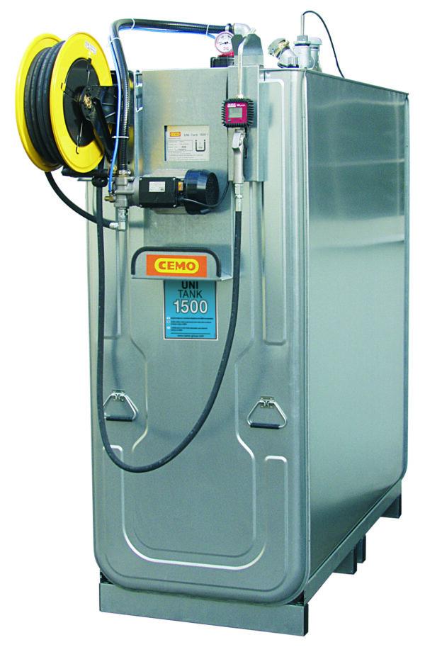 Station LUB PRO électrique 1 500 litres
