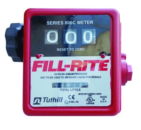 Compteur mécanique 3 chiffres pour pompe ATEX 12 et 24 V