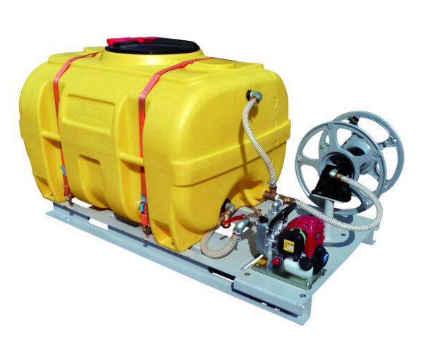 Cuve PE coffre équipée sur plateau 600 litres version thermique