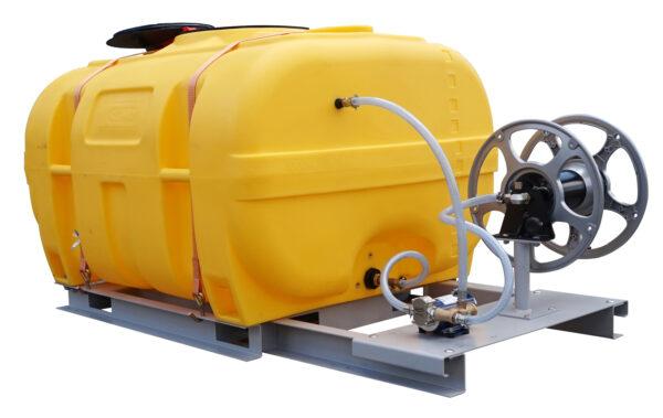 Cuve PE coffre équipée sur plateau 1 000 litres version thermique