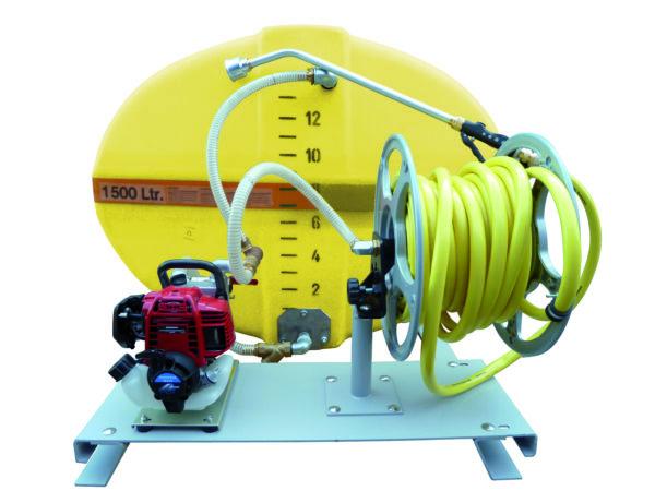 Cuve PFV ovale équipée sur plateau 1 500 litres version thermique