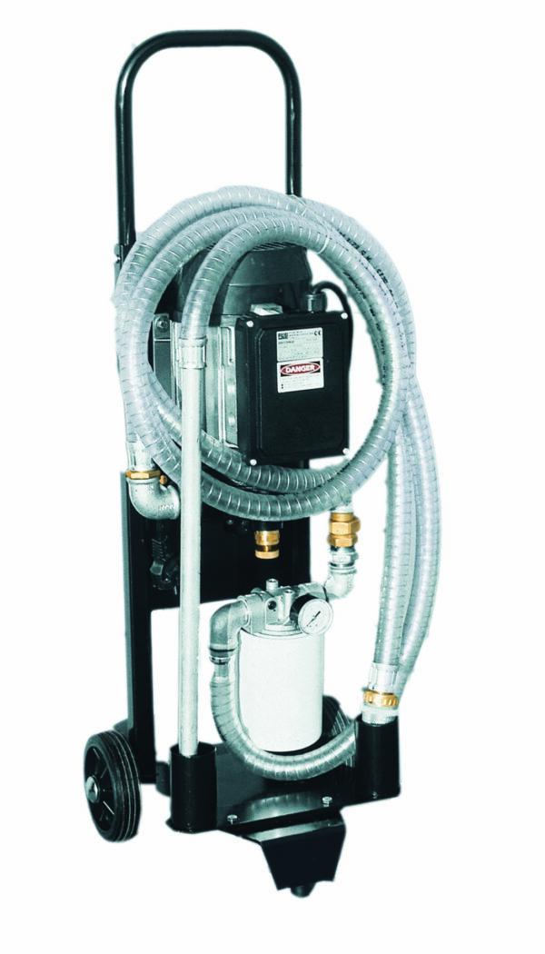 Unité mobile de filtration