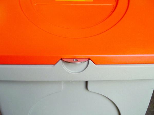 Système de fermeture pour cadenas en acier inox (cadenas non fourni)