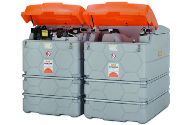 Extension II : 2 500 litres pour Stations GO CUBE Indoor 7 500 litres