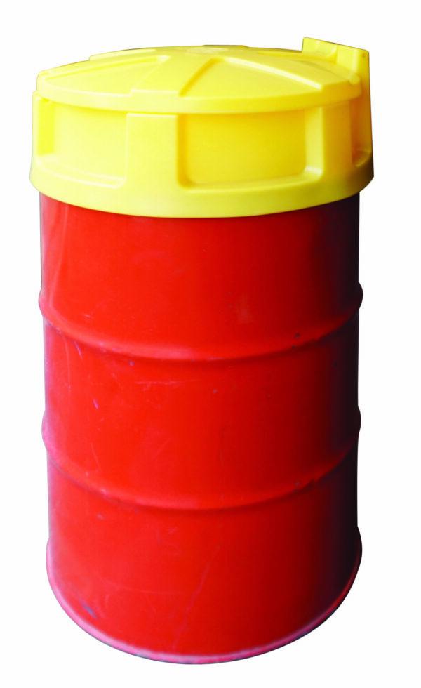 Entonnoir PE avec couvercle pour fût de 200 litres