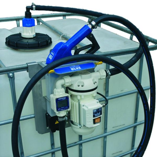 Kit de TRANSVASEMENT 230 V pour cubitainer Version PREMIUM  (canne d'aspiration en option)