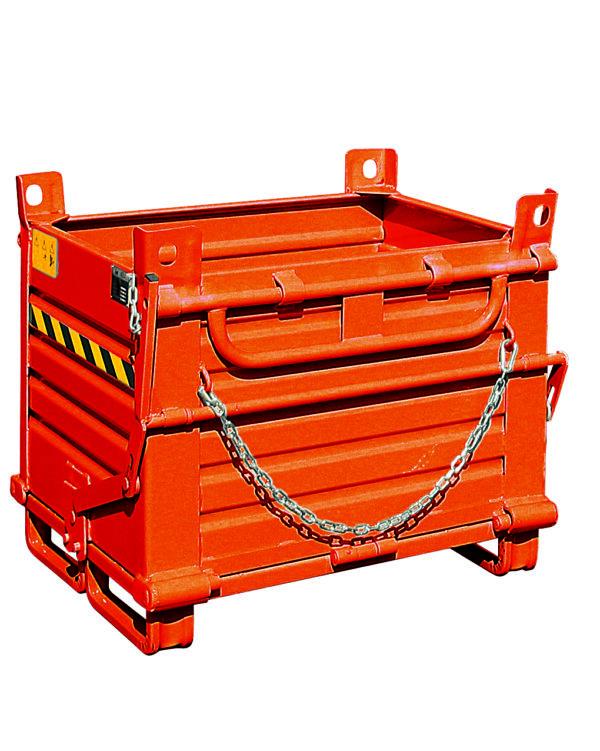 Bac acier à double fond 520 litres