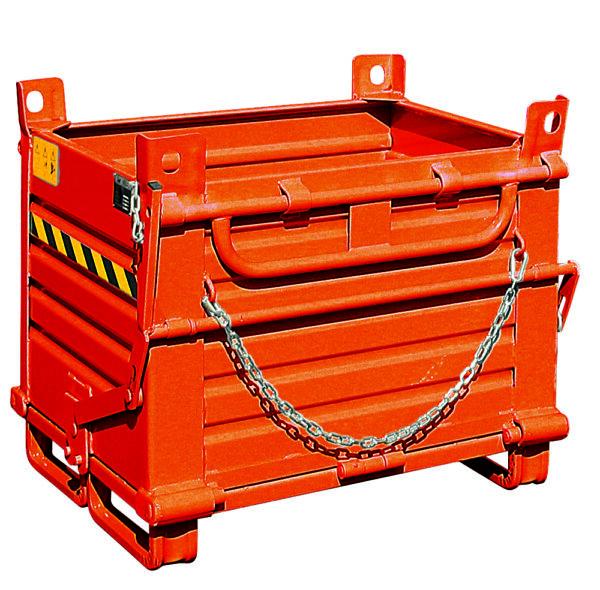 Bac acier à simple fond 780 litres
