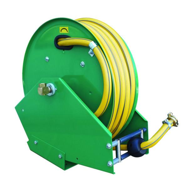 Dévidoir automatique avec 25 m de tuyau DN 19