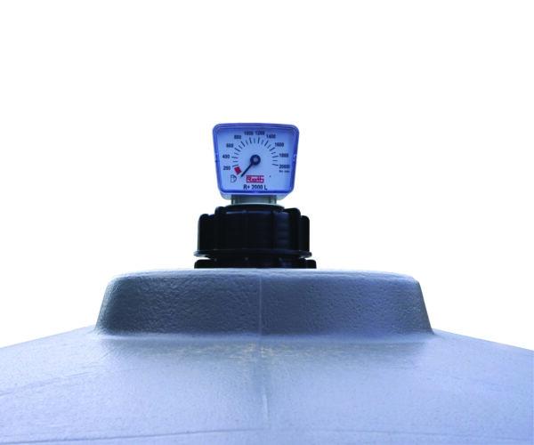 Jauge de niveau à cadran pour cuve GNR 2 000 litres