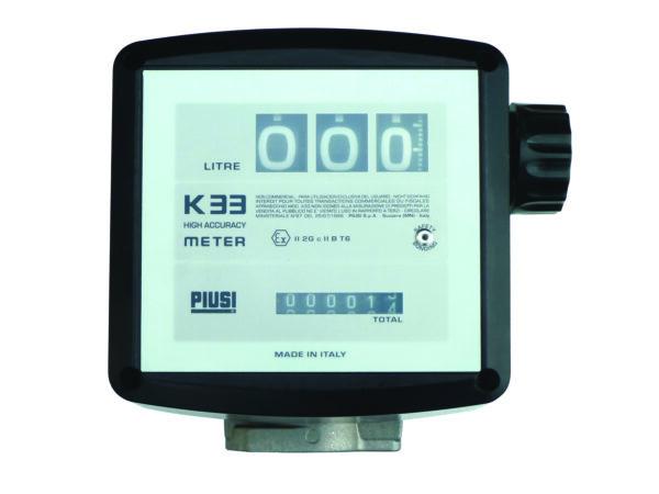Compteur mécanique 3 chiffres pour pompes CEMATEX avec kit brides