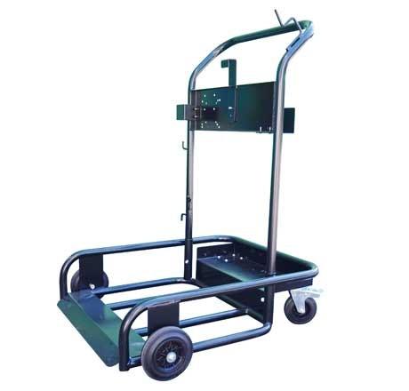 Chariot mobile de lubrification pour fût de 200 litres