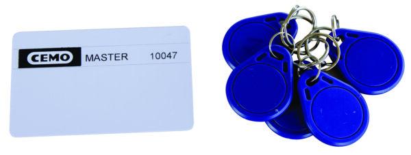 Compteur digital avec contrôle d'accès CMO 10 + 5 badges utilisateurs + 1 carte manager (voir page 18)