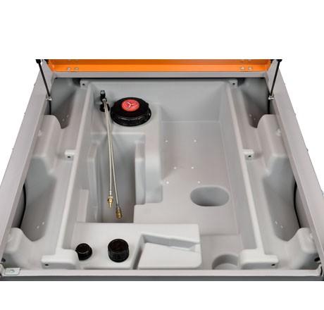 """Cuve DT-Mobil PRO PE ADR 980 Générateur (2 raccords rapides 3/8"""" - 1 aller et 1 retour)"""