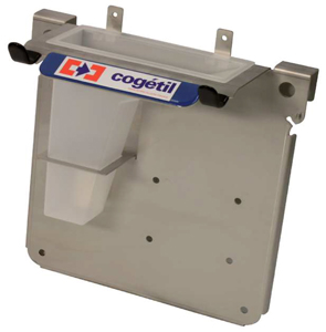 SUPPORT INOX VERTICAL COMPLET POUR STATION IBC
