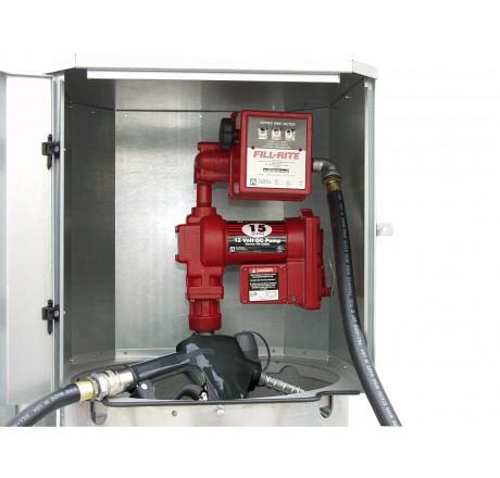 Pompe à palettes auto-amorçante 12 V certifiée ATEX 50 l/min