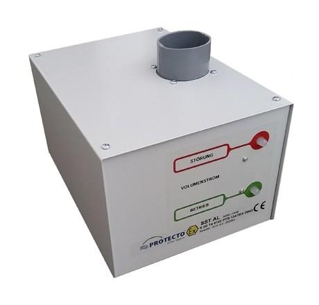 Ventilation par extraction pour armoire anti-feu Protecto-Line F90