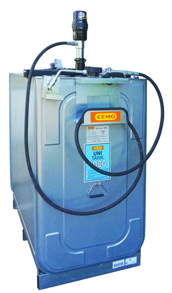 Station LUB ECO pneumatique 1 000 litres