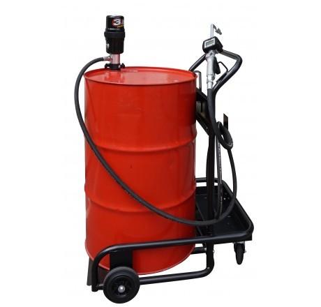 Chariot de lubrification pour fût de 200 l