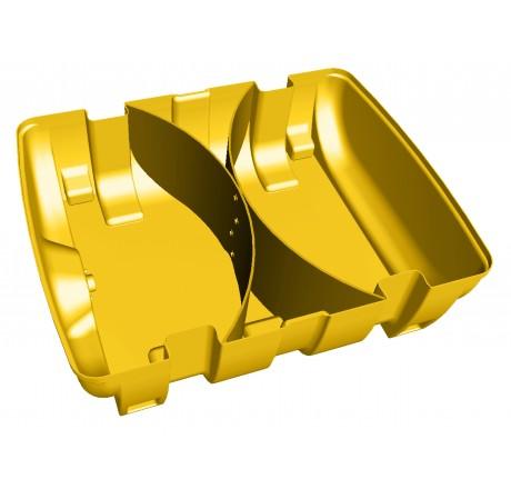 Cloisons anti-vagues (1 paire) impératives pour cuves montées sur véhicule roulant jusqu'à 80 km/h- livrées montées