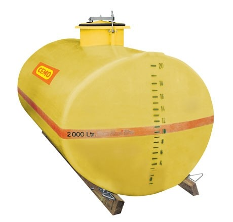 Cuve PFV ovale 3 000 litres