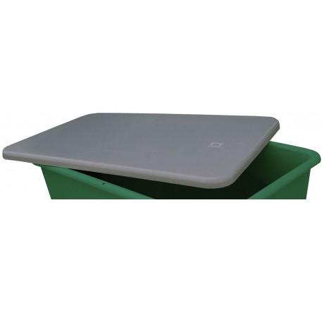 Couvercle plat gris
