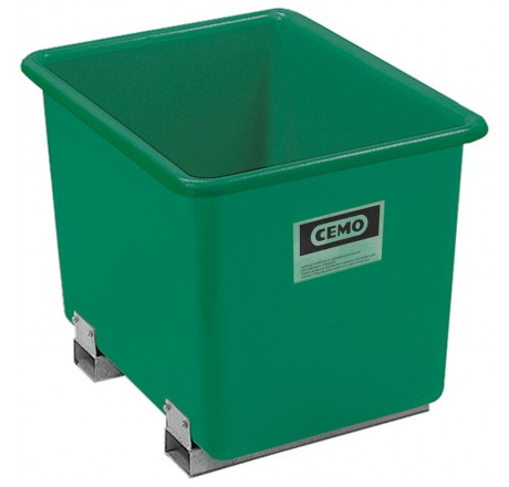 Bac PFV avec fourreaux 1 100 litres