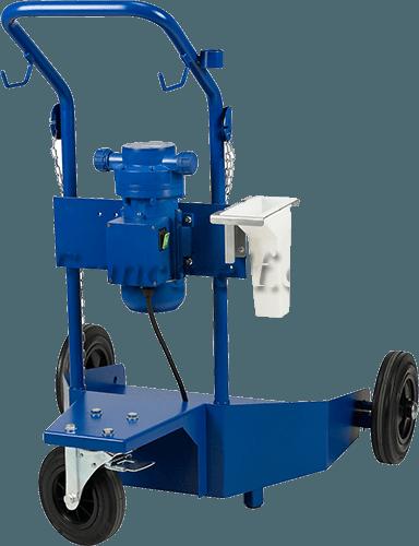 Chariot standart Adblue fût 200L 10l/mn