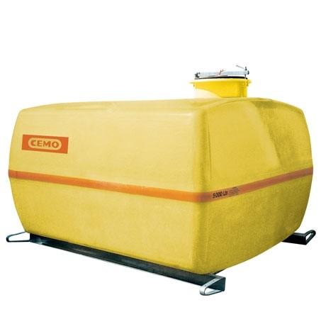 Cuve PFV coffre 2 000 l avec cloisons anti-vagues